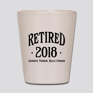 Retired 2018 Shot Glass